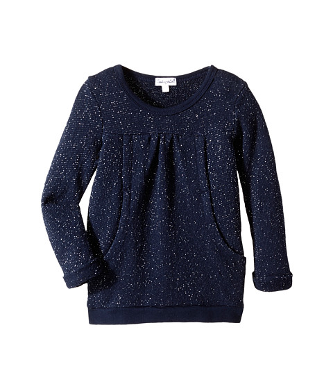 Splendid Littles - Lurex Top (Toddler) (Navy) Girl's Sweatshirt