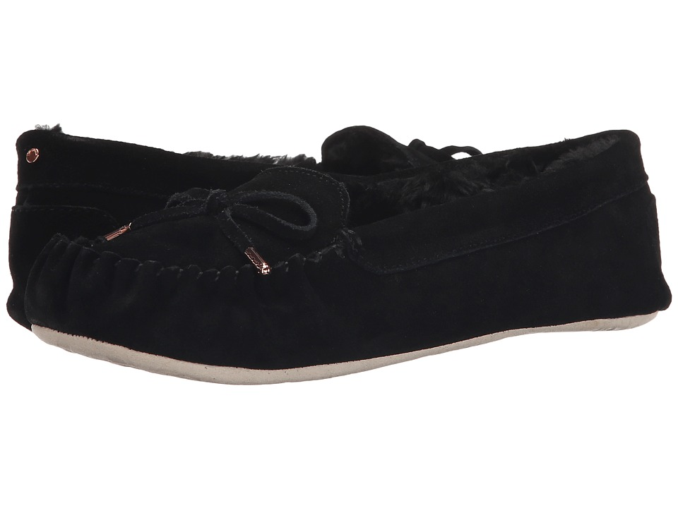 Ted Baker - Koizu (Black Suede) Women's Slippers