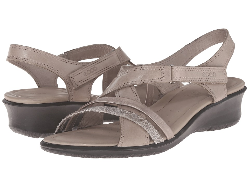 ECCO - Felicia Sandal (Moon Rock/Moon Rock) Women's Sandals