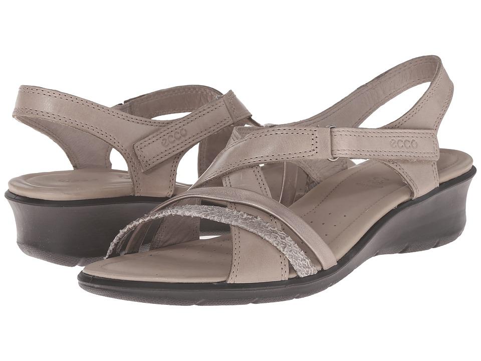 ECCO - Felicia Sandal (Moon Rock/Moon Rock) Women's Sandals
