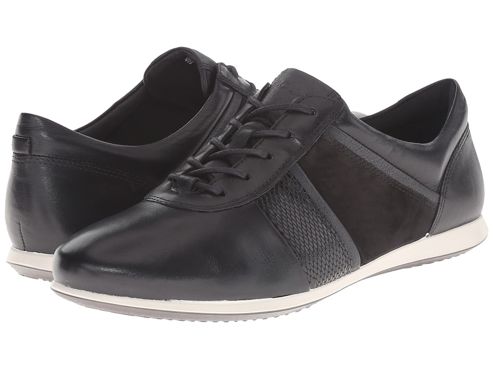 ECCO - Touch Modern Sneaker (Black/Black) Women's Lace up casual Shoes