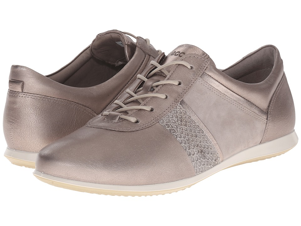 ECCO - Touch Modern Sneaker (Moon Rock/Moon Rock) Women's Lace up casual Shoes