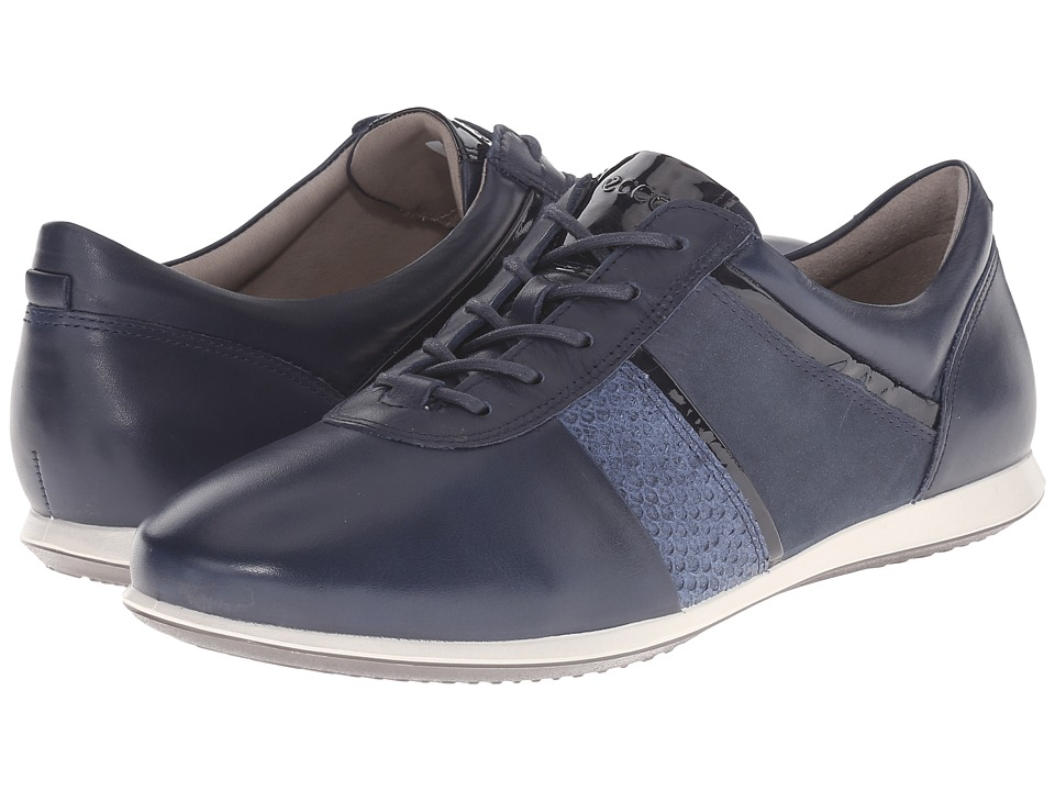 ECCO - Touch Modern Sneaker (Marine/Denim Blue/Marine) Women's Lace up casual Shoes