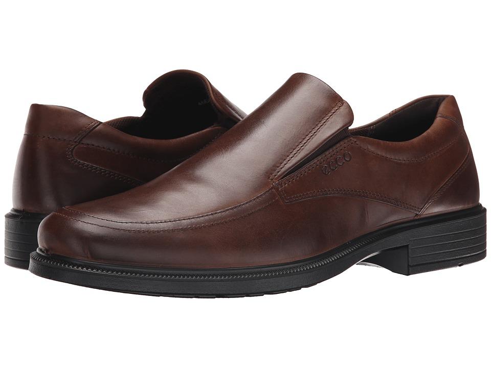 ECCO - Inglewood Slip-On (Black) Men's Slip on Shoes