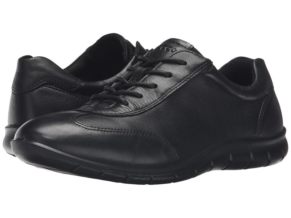 ECCO - Babett (Black) Women's Lace up casual Shoes
