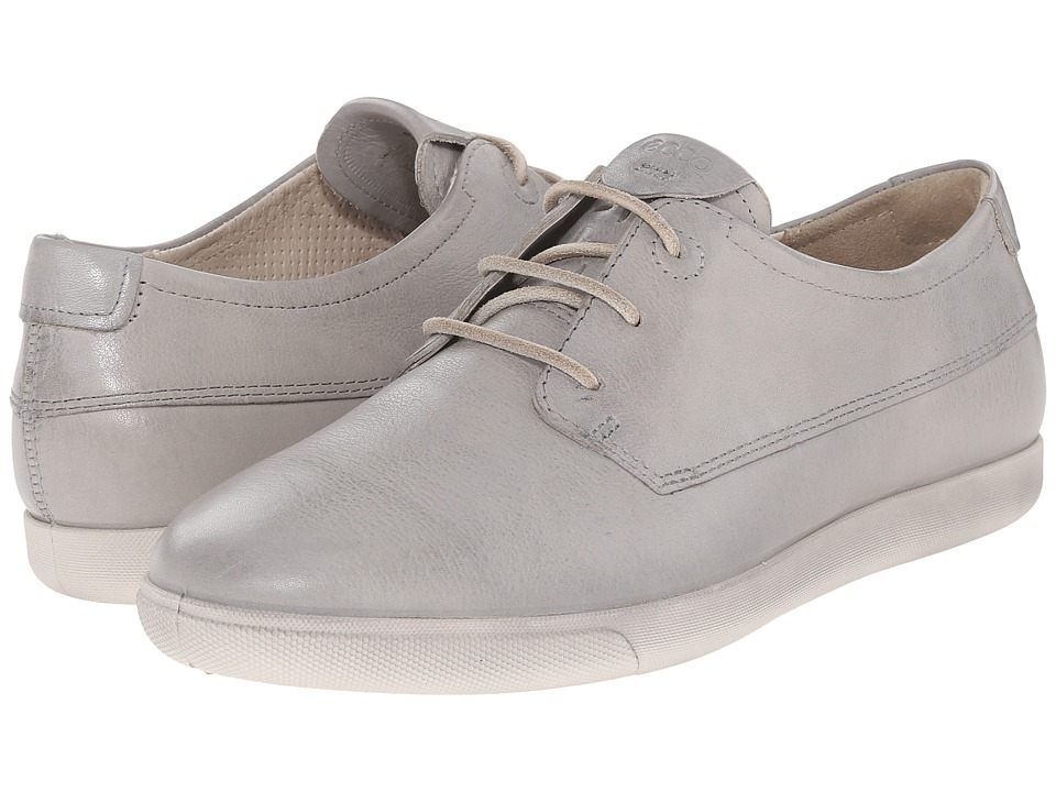 ECCO - Damara II Tie (Concrete) Women's Lace up casual Shoes