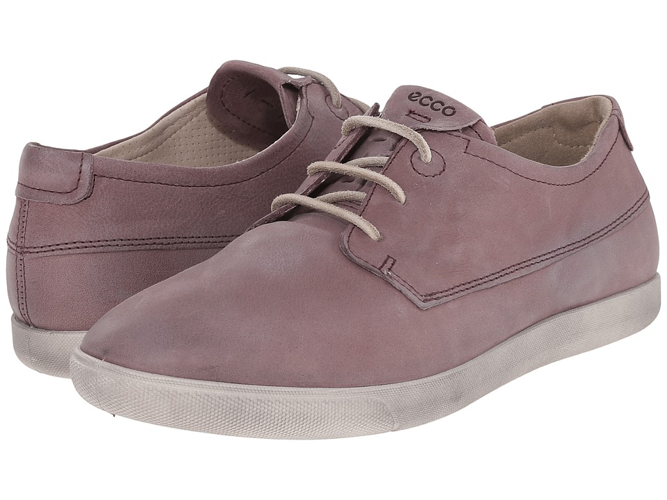 ECCO - Damara II Tie (Dusty Purple) Women's Lace up casual Shoes