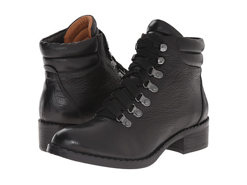 Gentle Souls - Brooklyn (Black) Women's Lace-up Boots
