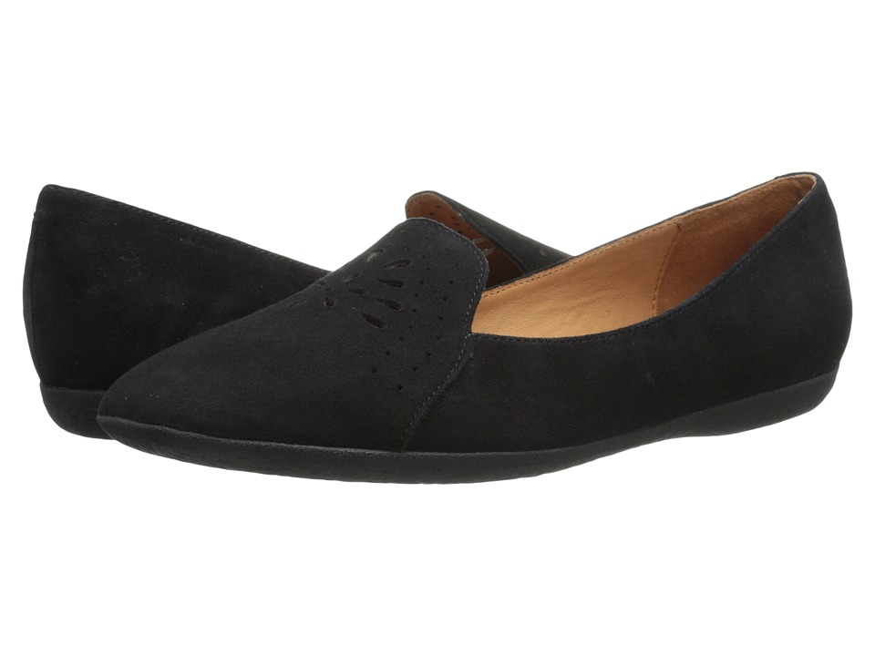 Gentle Souls - Erica (Black Suede) Women's Flat Shoes