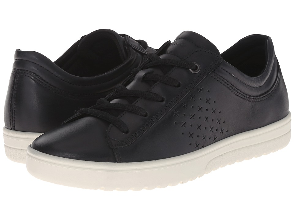 ECCO - Fara Tie (Black) Women's Lace up casual Shoes