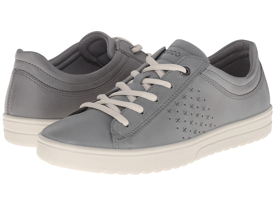ECCO - Fara Tie (Moon) Women's Lace up casual Shoes