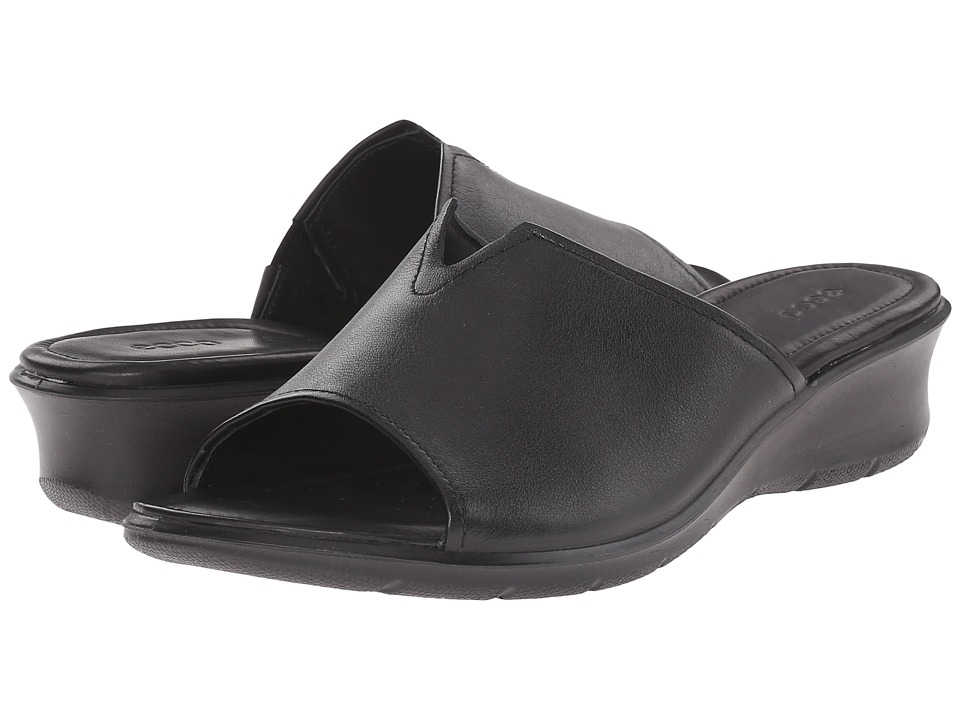ECCO - Felicia Slide (Black) Women's Slide Shoes