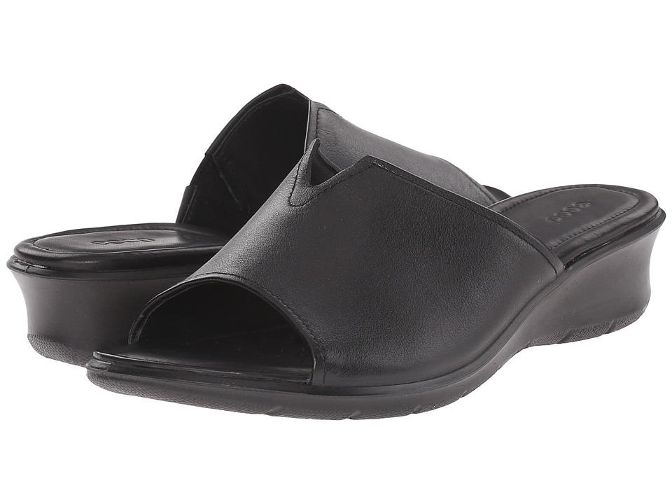 ECCO - Felicia Slide (Black) Women's Slide Shoes