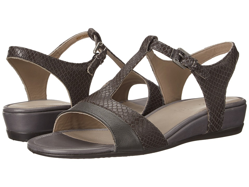 ECCO - Touch 25 Strap Sandal (Dark Shadow/Dark Shadow) Women's Shoes