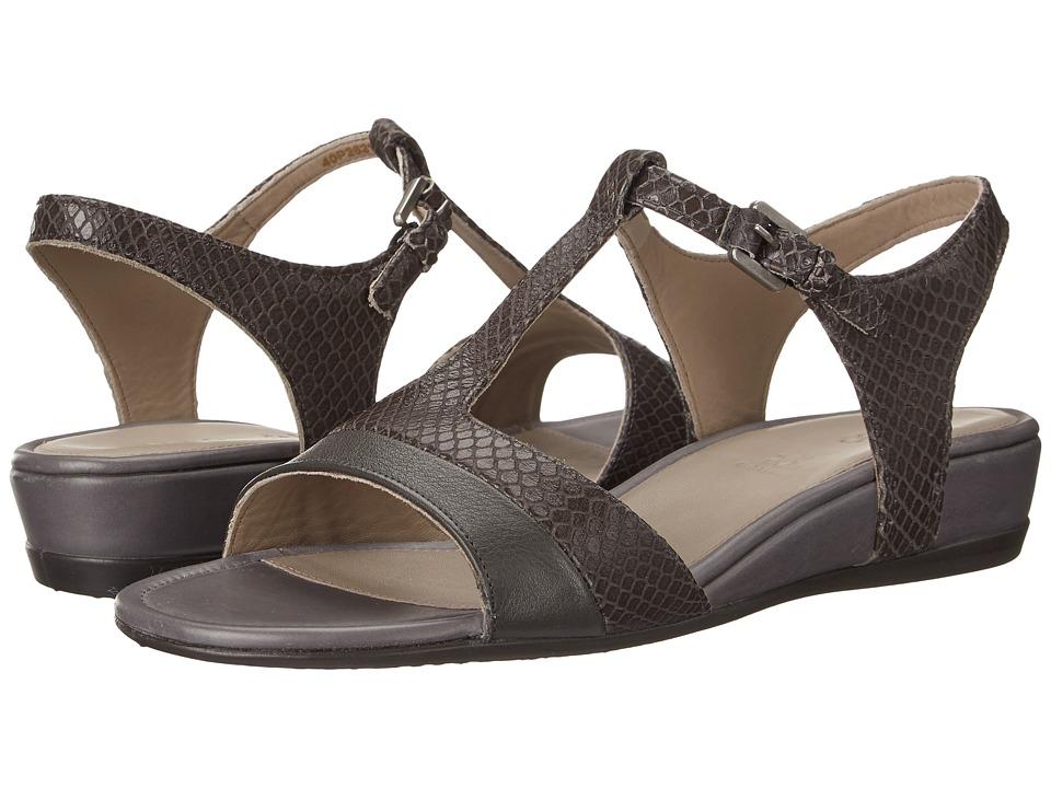 ECCO Touch 25 Strap Sandal (Dark Shadow/Dark Shadow) Women