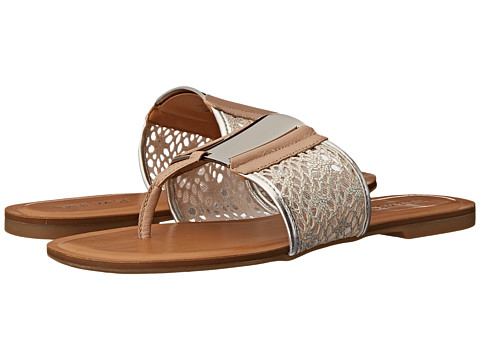Nine West - Palermo (Silver Multi Fabric) Women's Dress Sandals