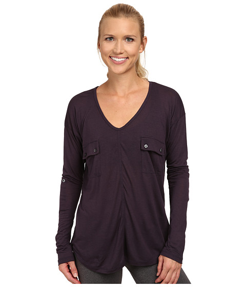 Tonic - Natasha Long Sleeve Top (Plum) Women