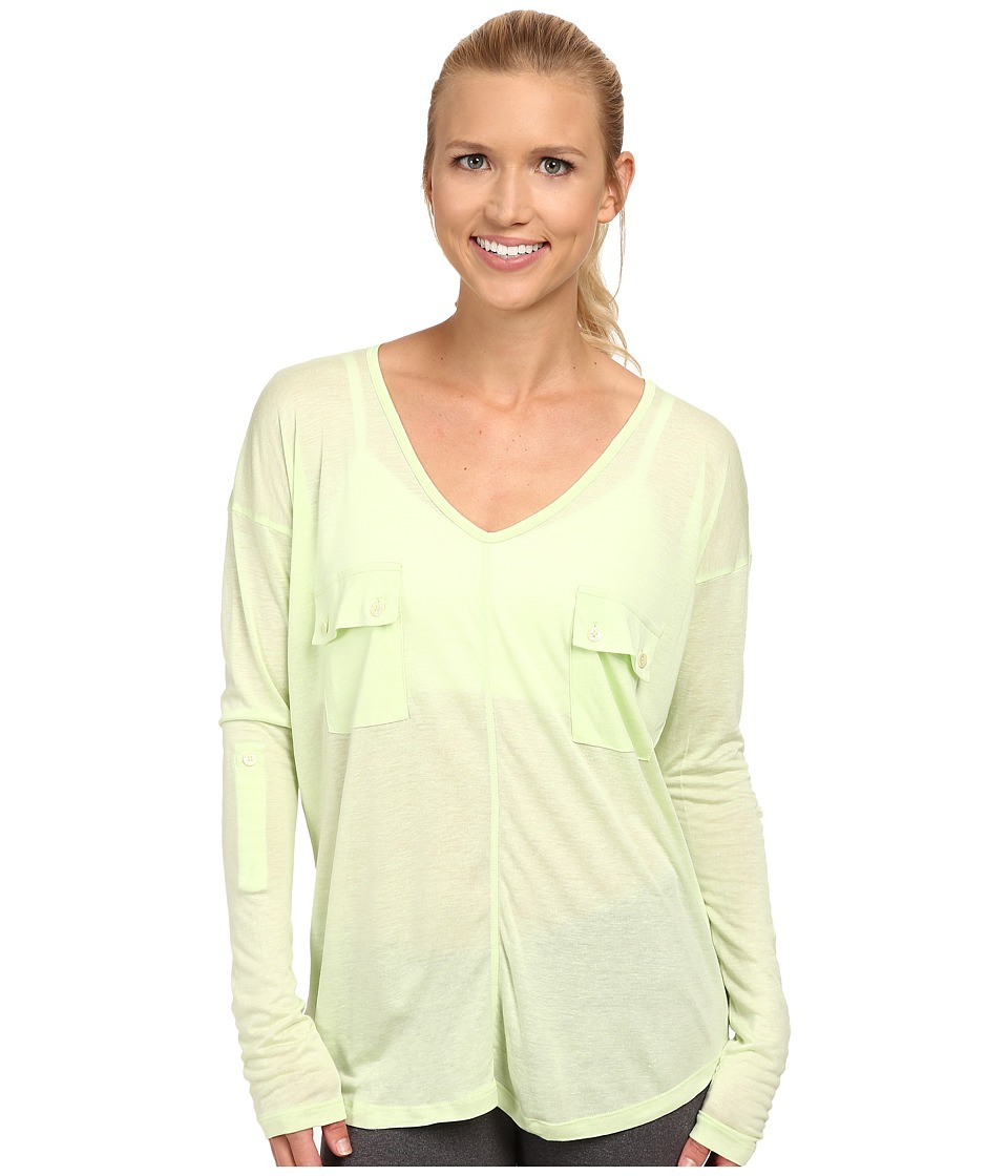 Tonic - Natasha Long Sleeve Top (Limepop) Women
