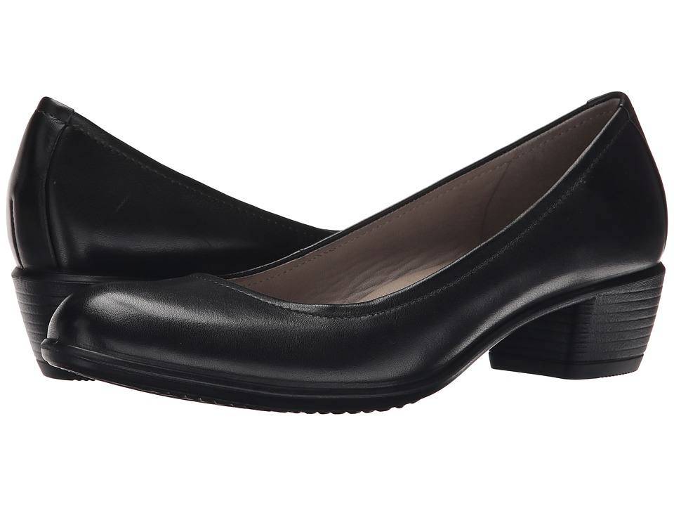 ECCO - Touch 35 Pump (Black) Women's 1-2 inch heel Shoes
