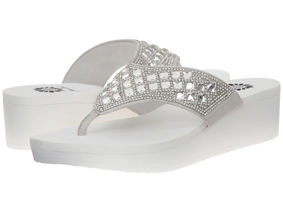 Yellow Box - Locklyn (White) Women's Sandals