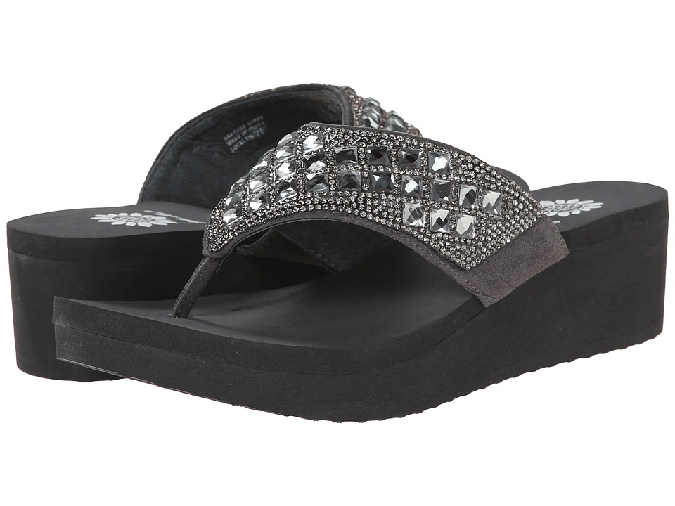 Yellow Box - Locklyn (Charcoal) Women's Sandals