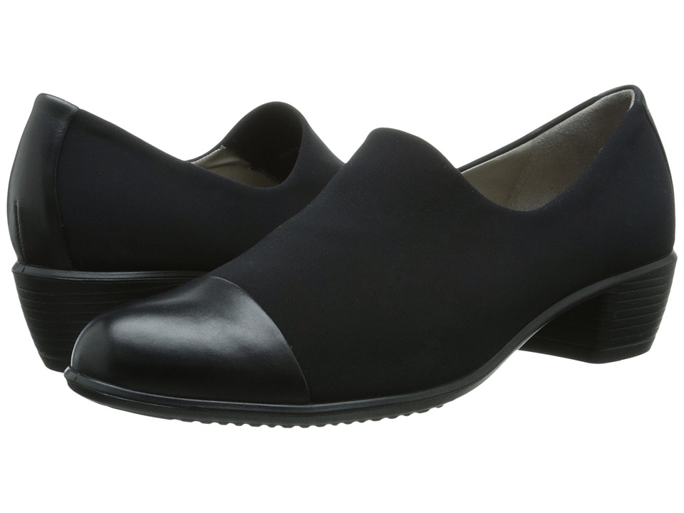 ECCO Touch 35 (Black/Black) Women