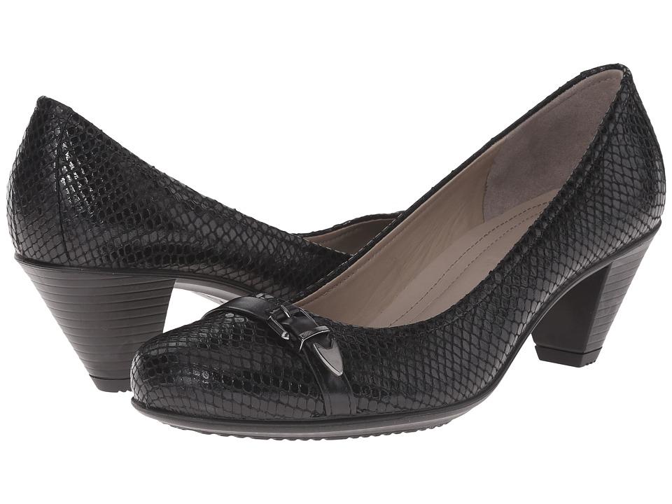 ECCO - Touch 50 Pump (Black/Black 1) High Heels