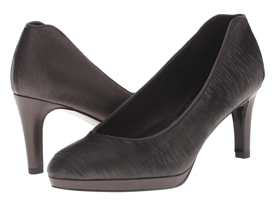 ECCO - Brooklyn Pump (Black/Gold Antic) High Heels