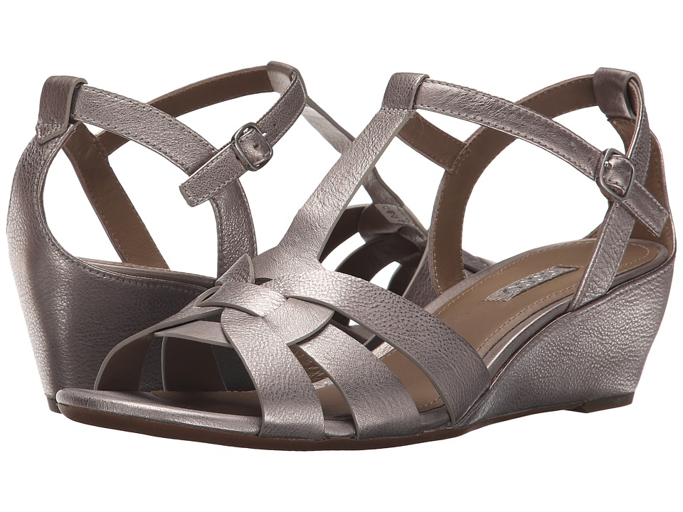 ECCO - Rivas 45 Wedge (Moon Rock) Women's Wedge Shoes