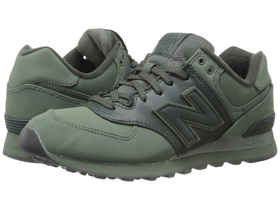 New Balance Classics - ML574 (Slate Green Synthetic) Men's Shoes