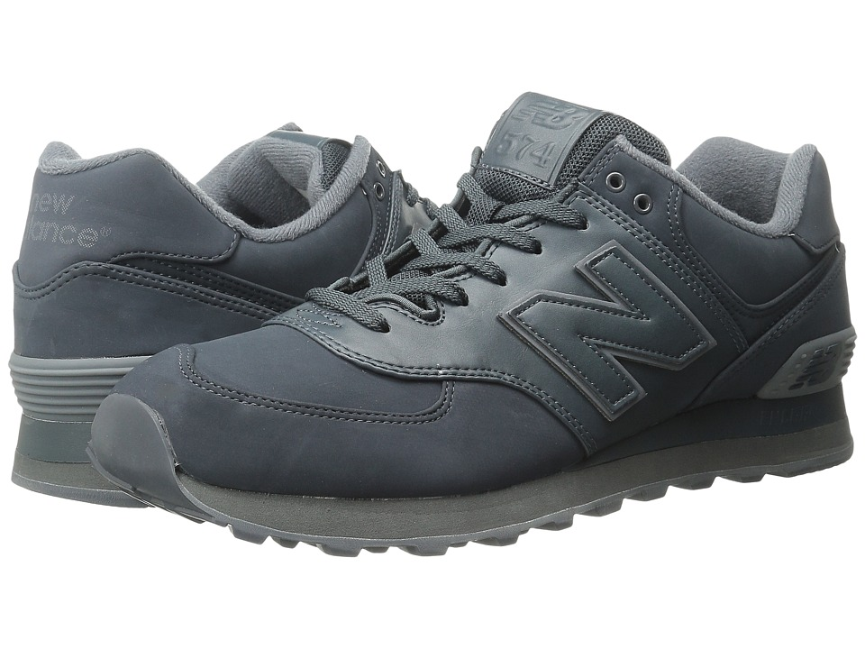 New Balance Classics - ML574 (Dark Grey Synthetic) Men's Shoes