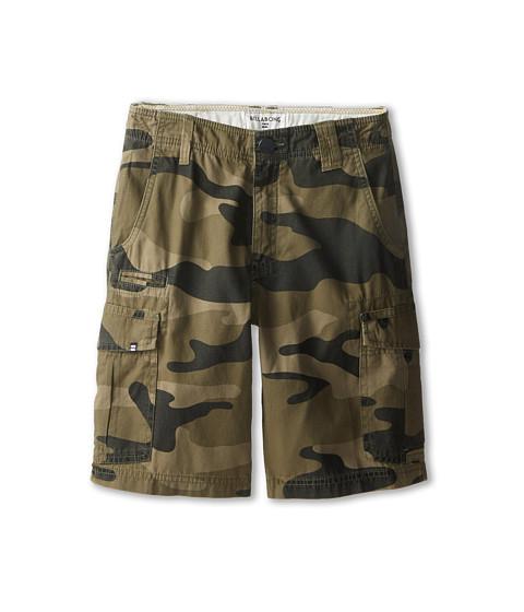 Billabong Kids - Scheme Walkshorts (Big Kids) (Military Camo) Boy