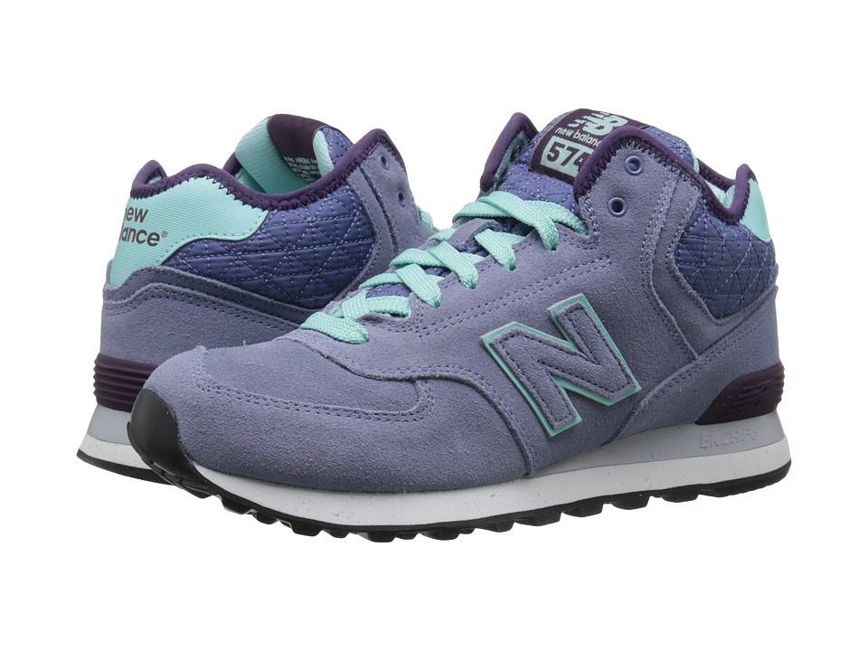 New Balance Classics WH574 (Purple Suede/Mesh) Women