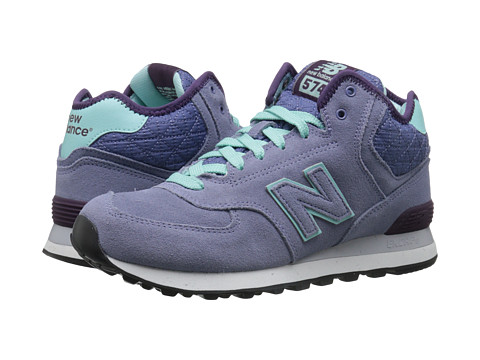 New Balance Classics - WH574 (Purple Suede/Mesh) Women's Classic Shoes
