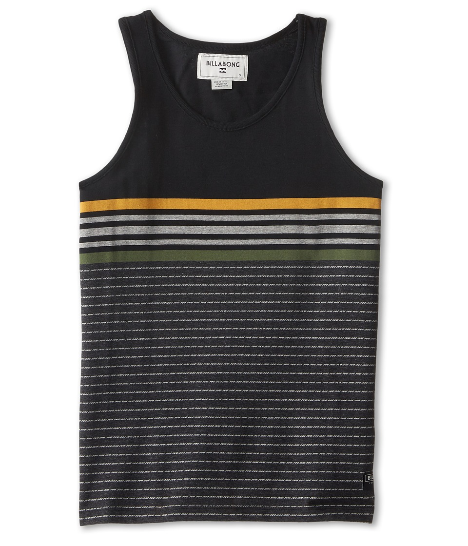 Billabong Kids - Spinner Tank Top (Big Kids) (Black) Boy's Sleeveless