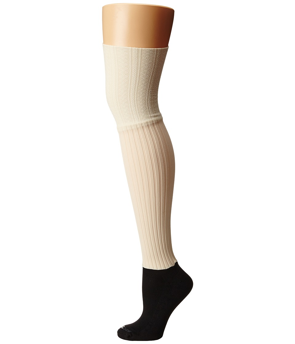 BOOTIGHTS - Ellevator (Cream) Women's Crew Cut Socks Shoes