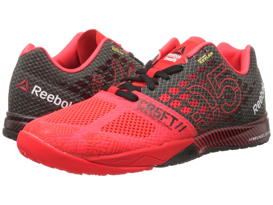 Reebok - CrossFit Nano 5.0 (Neon Cherry/Black/Chalk) Women's Cross Training Shoes