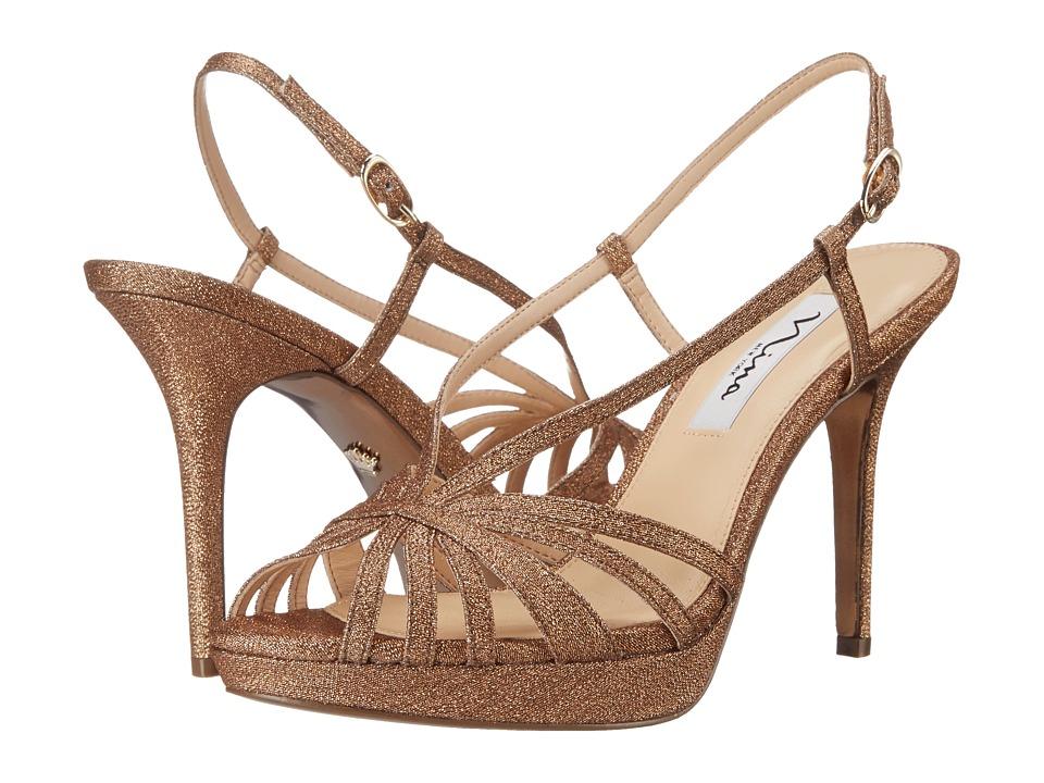 Nina Fenix-YF (Bronze) High Heels
