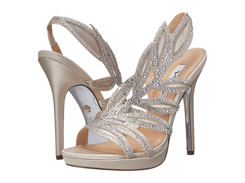 Nina - Fauna-JS (Ivory/Silver) High Heels