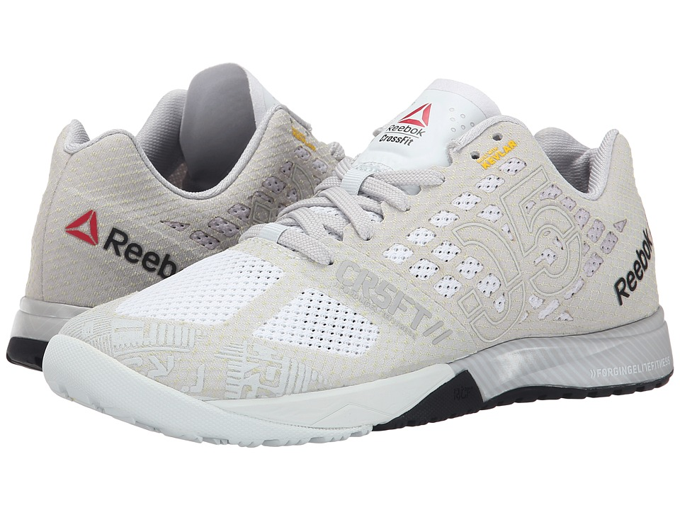 Reebok CrossFit(r) Nano 5.0 (Chalk/Steel/Black) Women