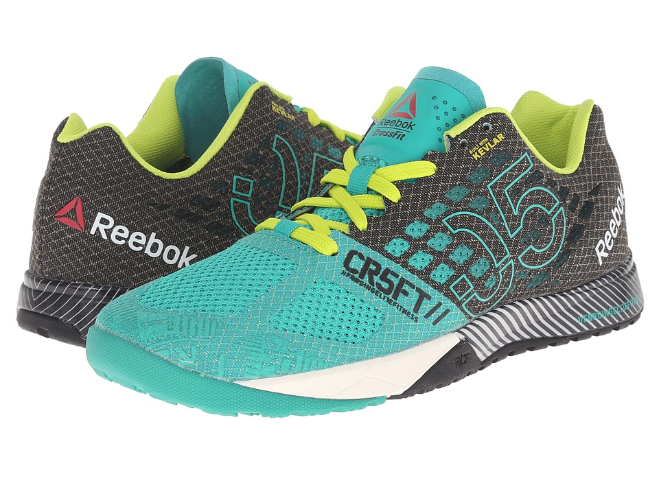 Reebok - CrossFit Nano 5.0 (Glass Green/Black/Semi Solar Yellow/Chalk) Women's Cross Training Shoes
