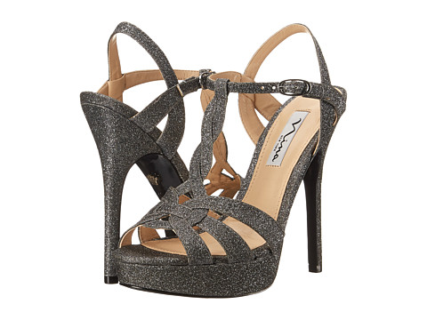Nina - Marzia (Charcoal) High Heels
