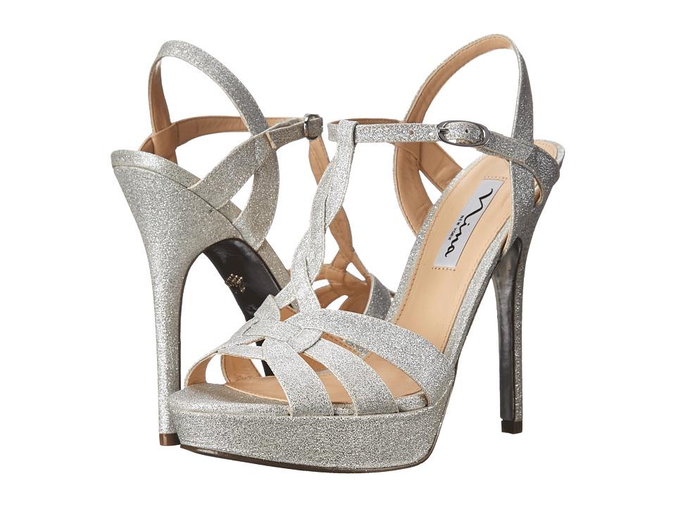 Nina Marzia (Silver) High Heels
