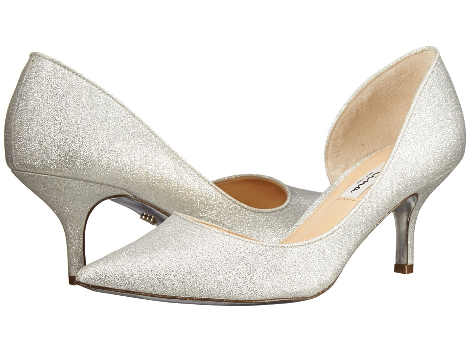 Nina - Brynlee-YF (Silver) Women's 1-2 inch heel Shoes