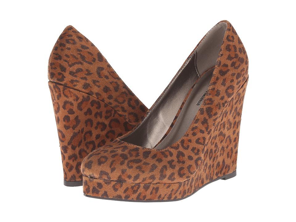 Michael Antonio - Avalon Ani (Leopard) Women's Wedge Shoes