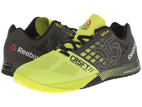 Reebok - CrossFit Nano 5.0 (Semi Solar Yellow/Black/Flat Grey) Men's Cross Training Shoes