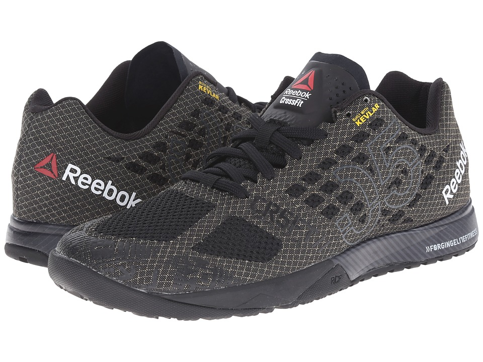 Reebok CrossFit Nano 5.0 (Black/Gravel) Men