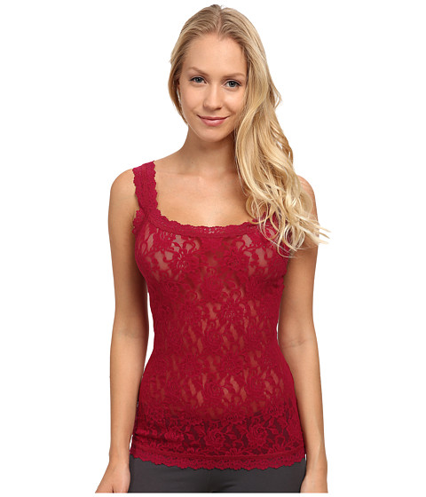 Hanky Panky - Signature Lace Unlined Cami (Cranberry) Women's Underwear