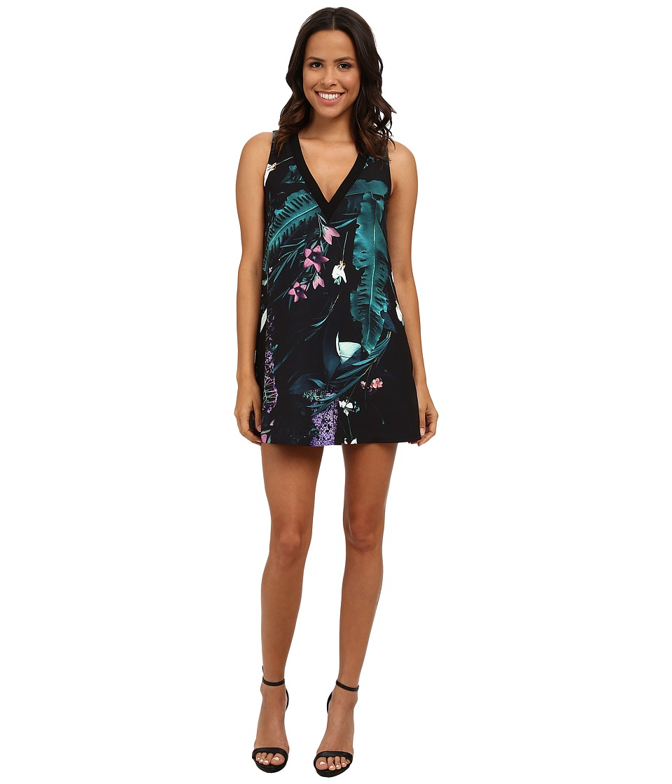 StyleStalker - Oasis Print Shift Shift Shift (Oasis Print) Women's Dress
