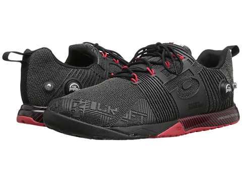 Reebok - CrossFit Nano Pump Fusion (Black/Excellent Red) Men's Cross Training Shoes